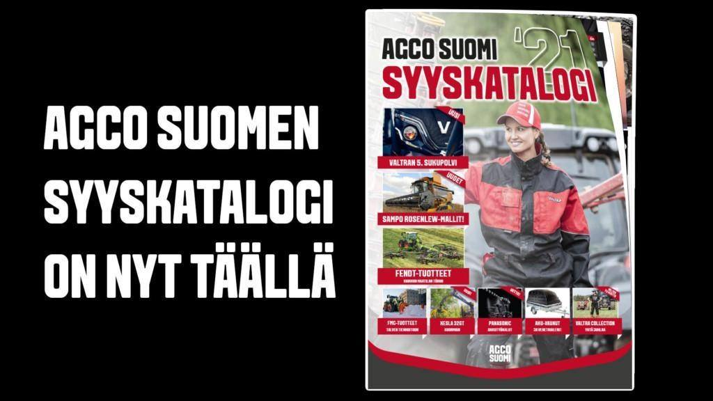 AGCO Suomi Syyskatalogi 2021